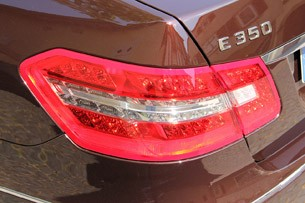 2012 Mercedes-Benz E350 taillight