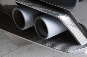 2011 Lamborghini Gallardo LP 570-4 Spyder Performante exhaust system