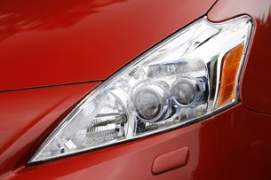 2012 Toyota Prius V headlight