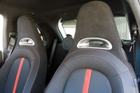 2012 Fiat 500 Abarth front seats
