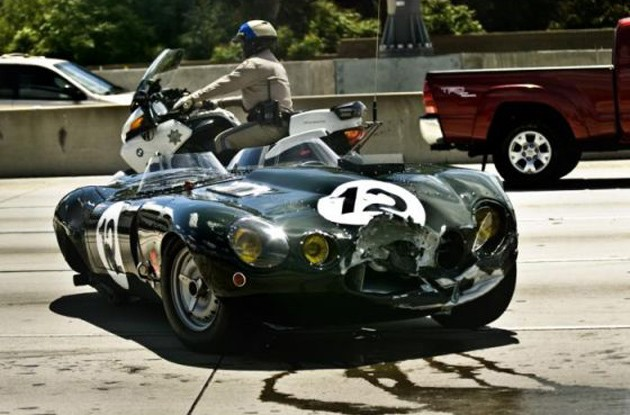 jaguar lightweight e-type accident