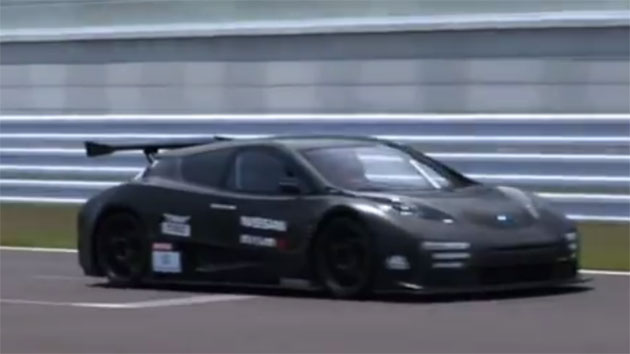 Nissan Leaf Nismo RC on track