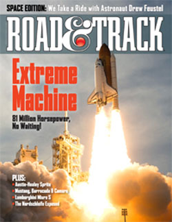 Road & Track Space Edition cover