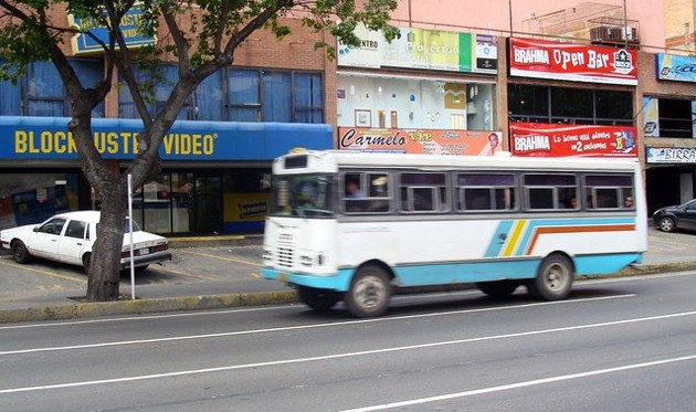 Bus in Venezuela
