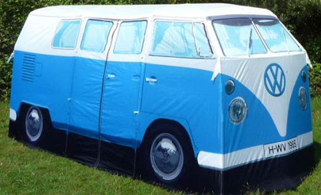 Volkswagen Camper Van Is Back In Tent Form Autoblog