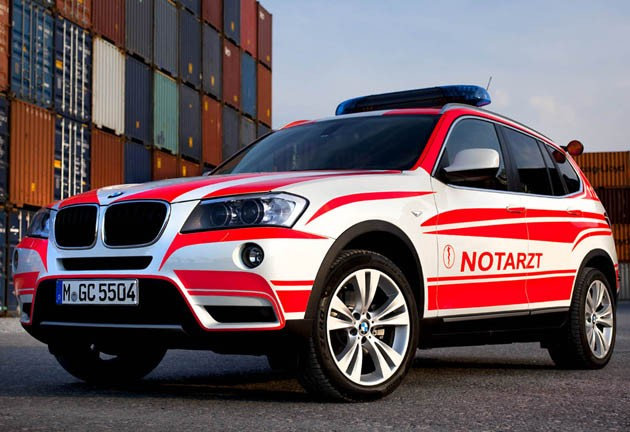 BMW X3 emergency vehicle