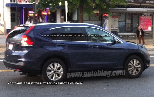 2012 Honda CR-V spy shot