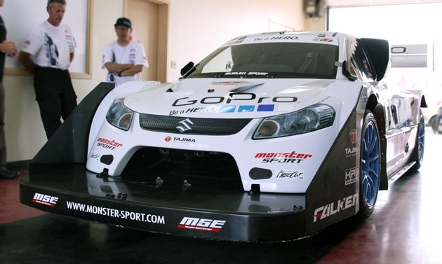 2011 monster sport suzuki sx4 hill climb special