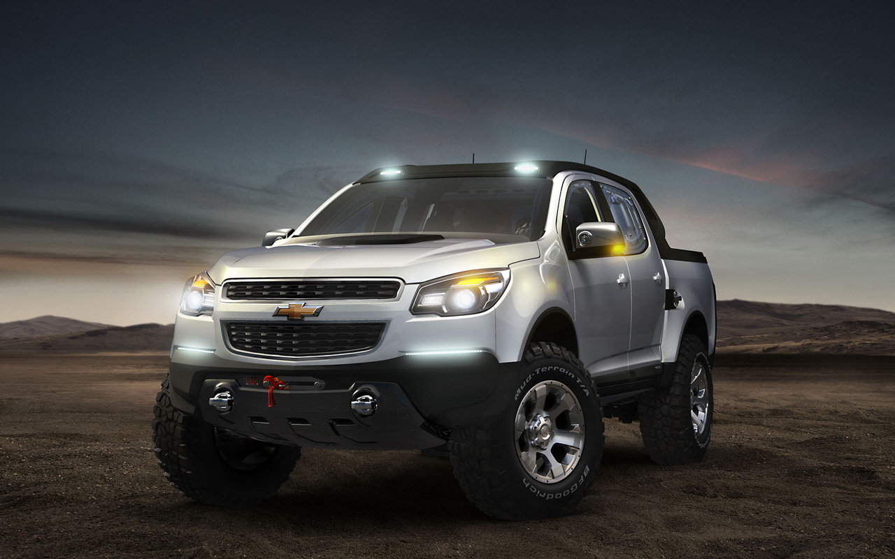 Chevrolet colorado rally concept shown in argentina chevy colorado gmc canyon