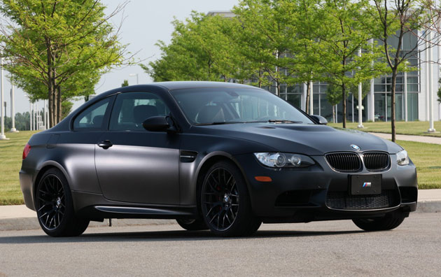2011 BMW M3 Frozen Black Edition