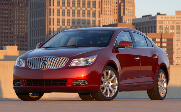 2012 buick lacrosse gets more powerful 3 6l v6. Black Bedroom Furniture Sets. Home Design Ideas