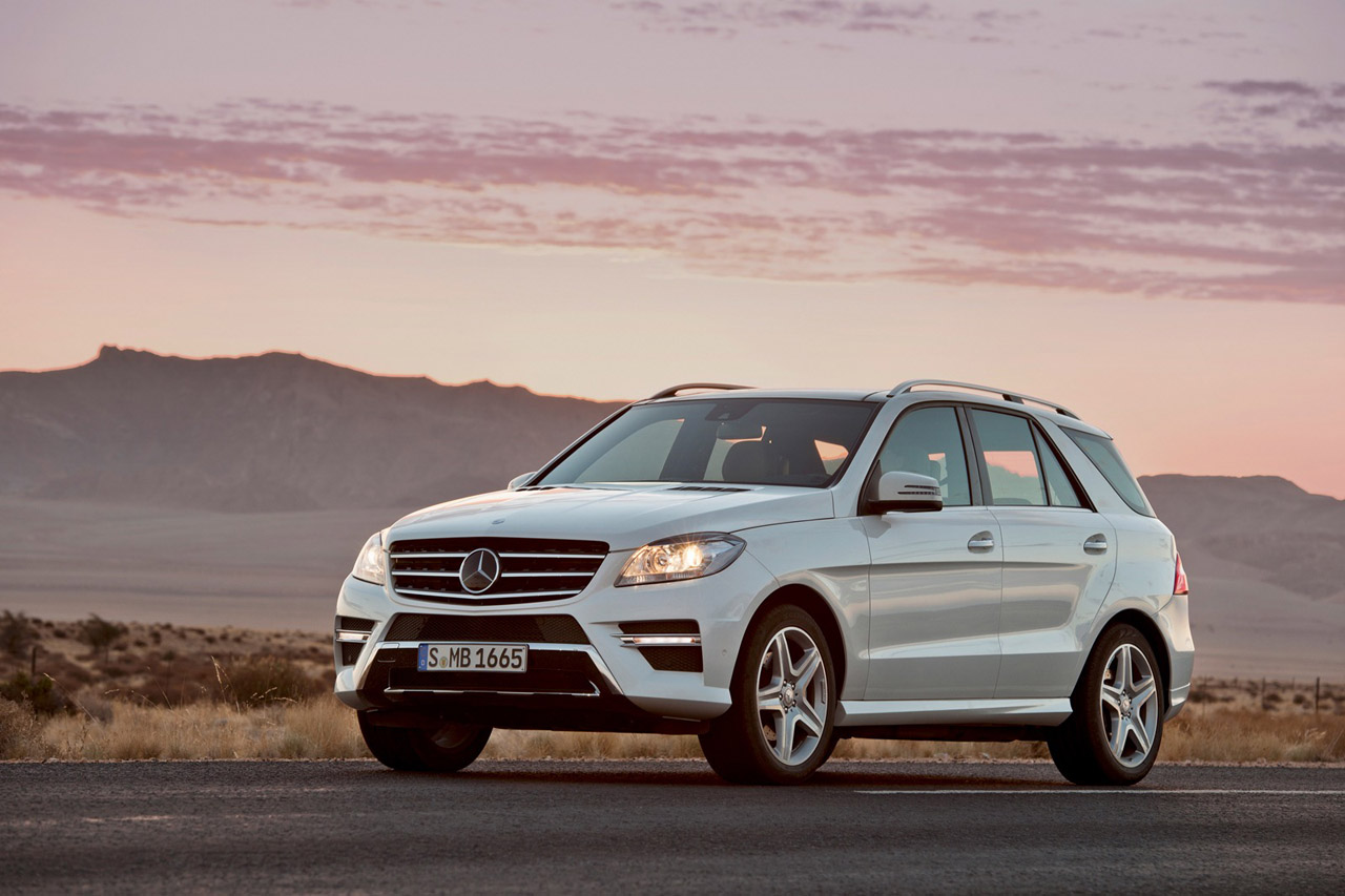 The Mercedes-Benz M-Class is