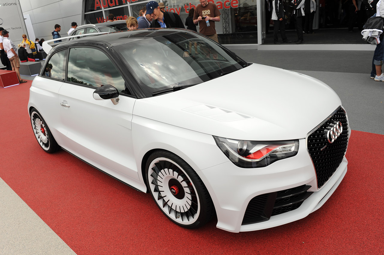 Audi A1 clubsport quattro at Le Mans Photo Gallery - Autoblog