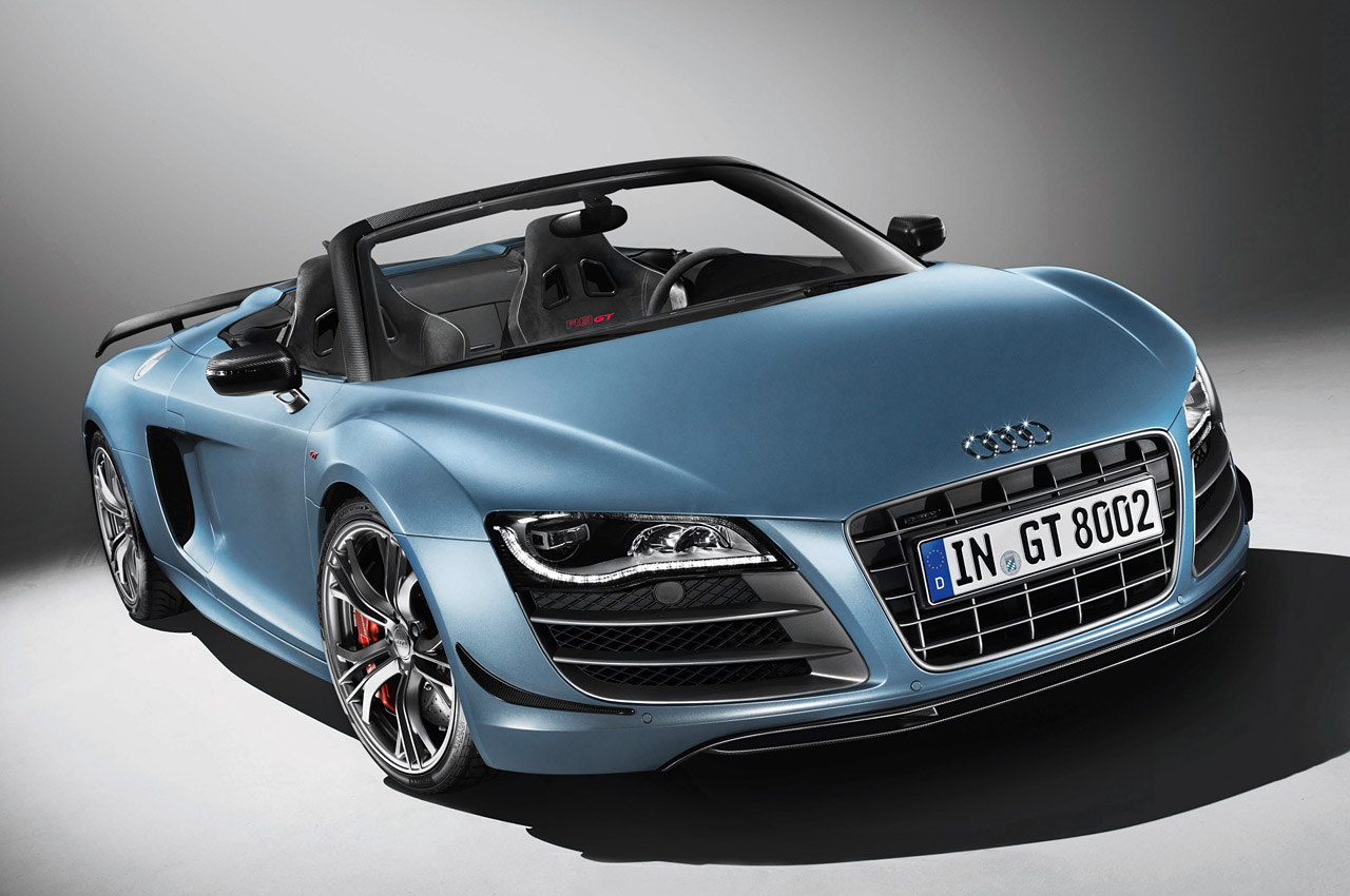audi releases full details on r8 gt spyder autoblog. Black Bedroom Furniture Sets. Home Design Ideas
