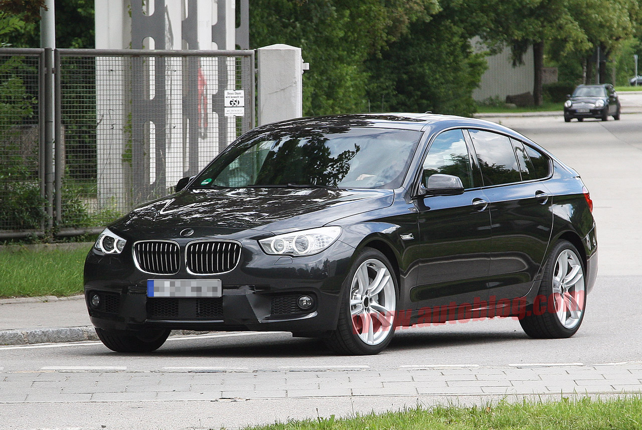 bmw to dress up 5 series gran turismo with m sport package autoblog. Black Bedroom Furniture Sets. Home Design Ideas