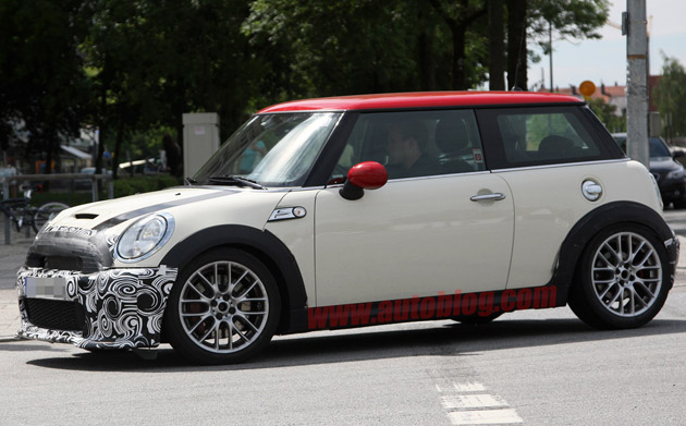 Mini Cooper JCW Challenge Spy Shots