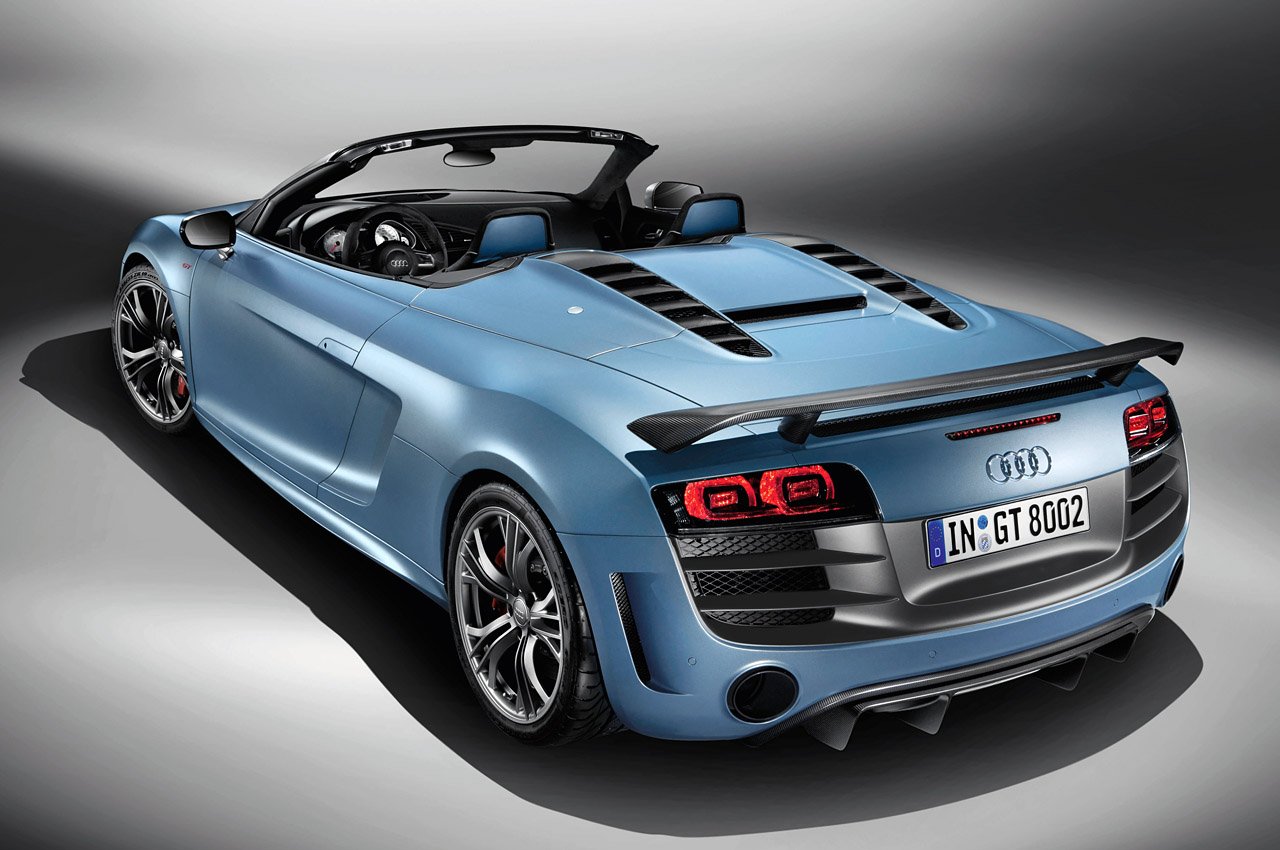 Audi Certified Pre Owned >> Audi releases full details on R8 GT Spyder - Autoblog