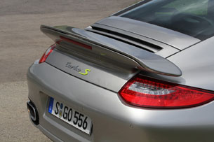 2012 Porsche 911 Turbo S Edition 918 Spyder rear spoiler
