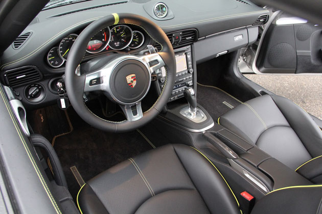 2012 Porsche 911 Turbo S Edition 918 Spyder interior