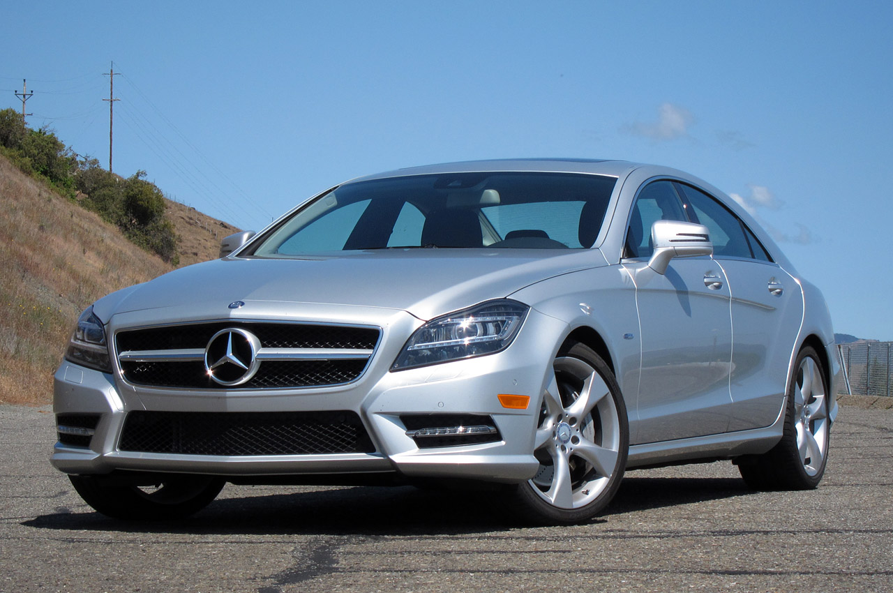 2012 mercedes benz cls550 first drive photo gallery. Black Bedroom Furniture Sets. Home Design Ideas