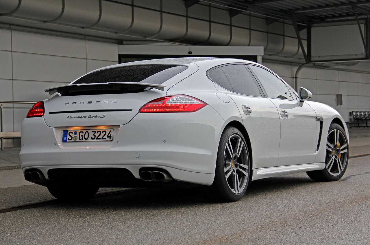 2012 Porsche Panamera Turbo S First Drive Photo Gallery