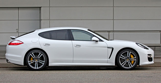 2012 Porsche Panamera Turbo S side profile
