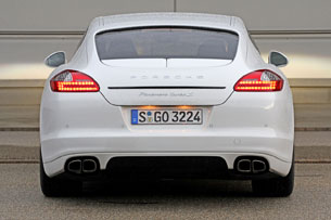 2012 Porsche Panamera Turbo S rear