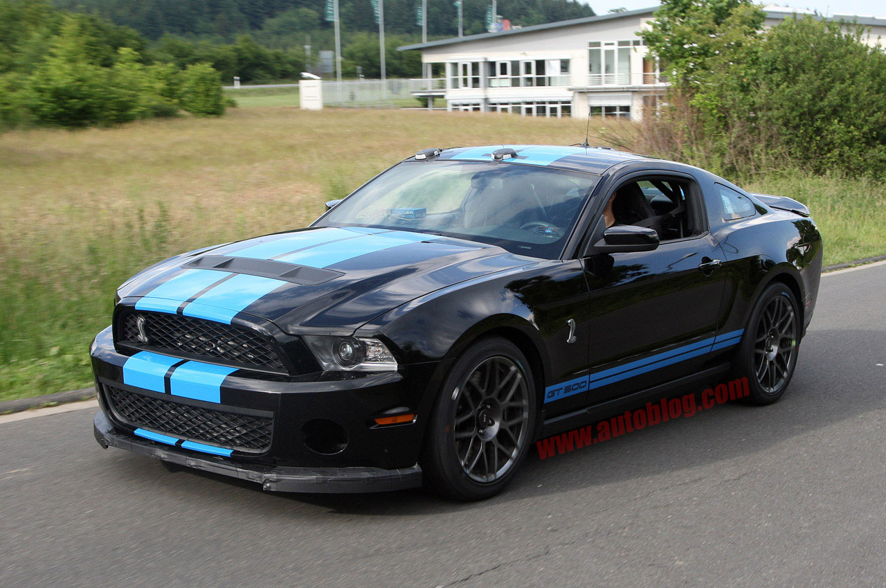 ford shelby gt500 spy shots photo gallery autoblog. Black Bedroom Furniture Sets. Home Design Ideas