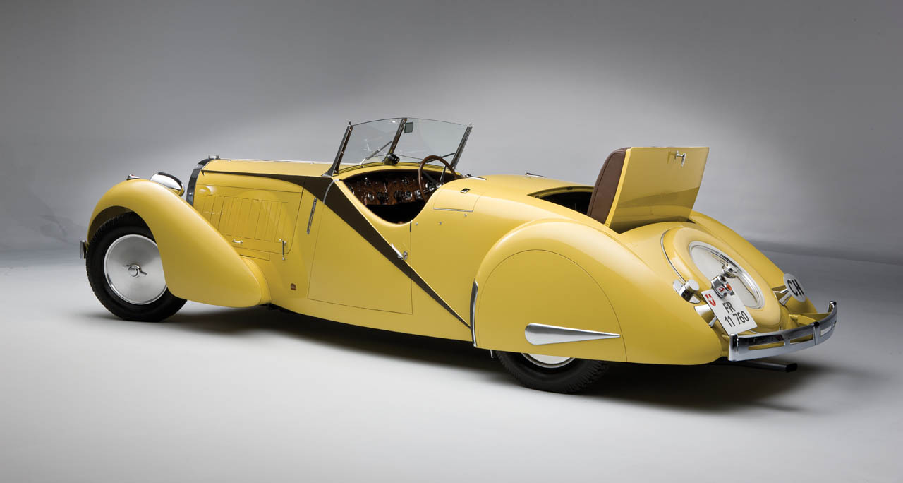1935 Bugatti Type 57 Grand Raid Roadster Photo Gallery
