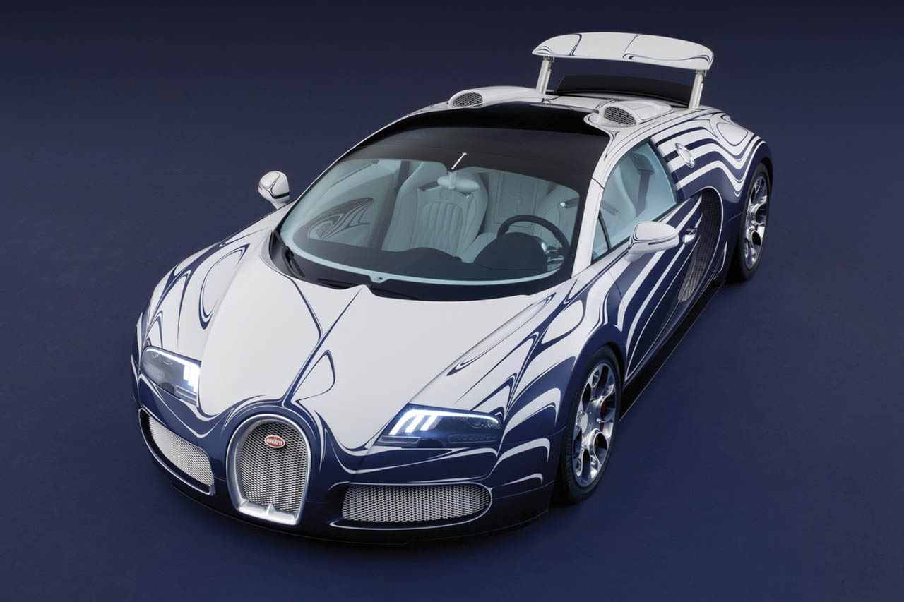 bugatti unwraps one of a kind porcelain trimmed veyron l 39 or blanc autoblog. Black Bedroom Furniture Sets. Home Design Ideas