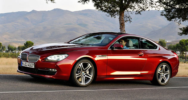 2012 BMW 6 Series Coupe in crimson