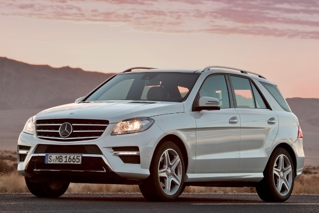 2012 Mercedes-Benz M-Class