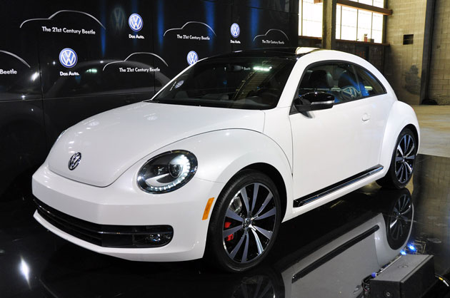 2012 Volkswagen Beetle at the New York Auto Show