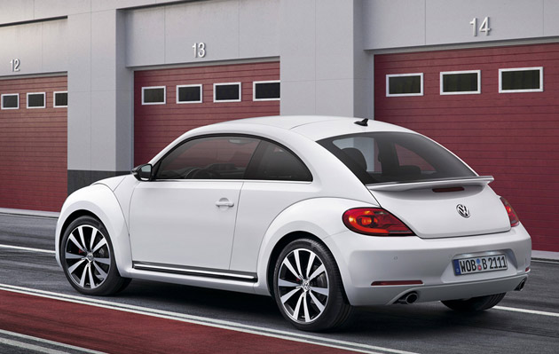 2012 Volkswagen Beetle - rear three-quarter