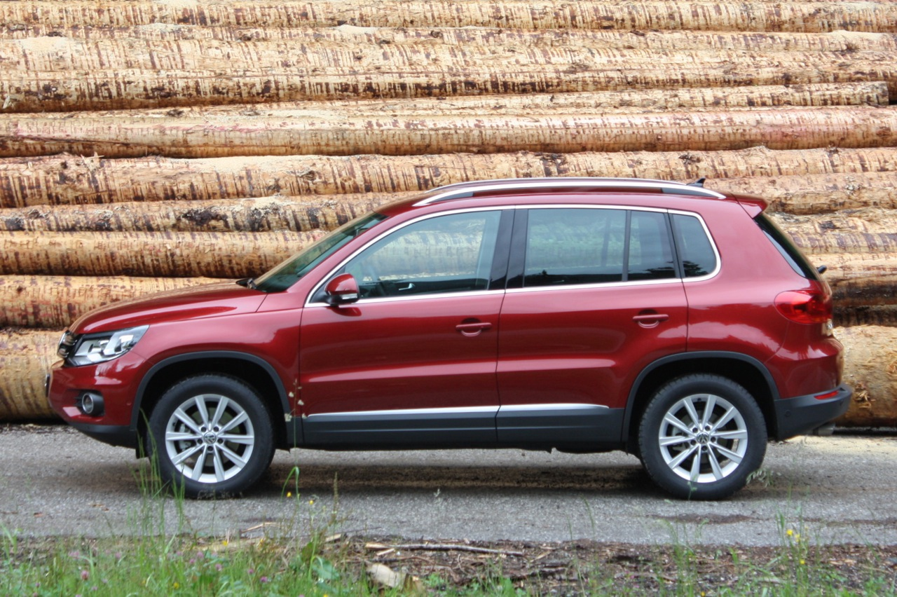 2009 Vw Tiguan Se 4motion Review The Truth About Cars Html