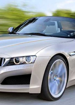 BMW Z2 convertible rendering - cropped