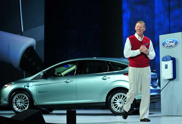 Alan Mulally at CES