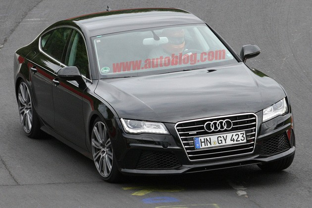 spy photo audi s7