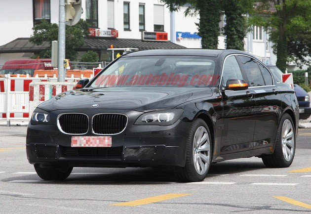 spy shot bmw 7 series