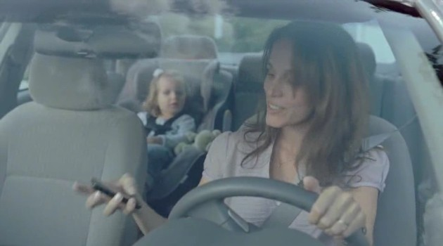 BMW distracted driving ad