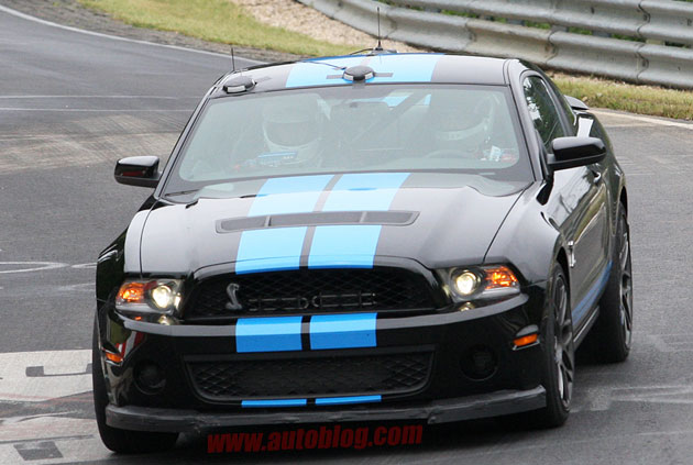 Ford Shelby GT500 Spy Shot
