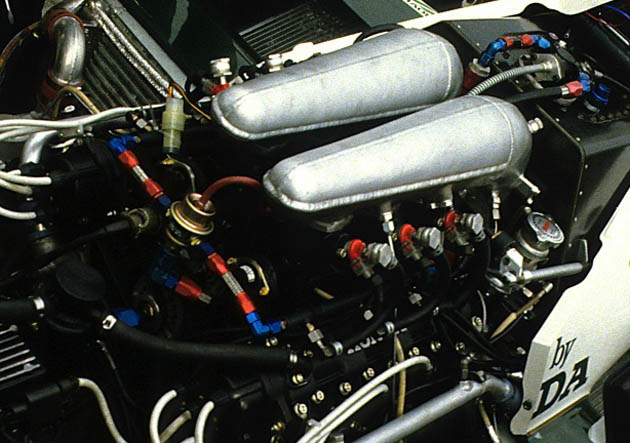 Honda RA163E 1.5-liter V6 turbo F1 engine from 1984