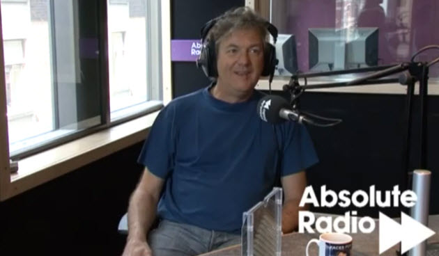 james may on the radio