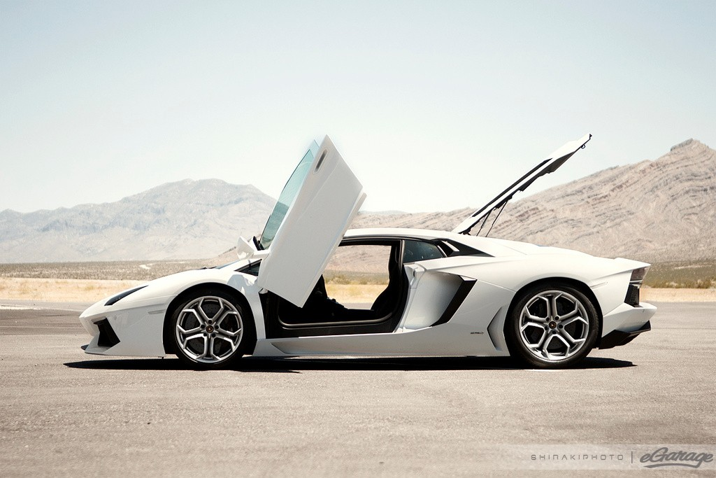 First Lamborghini Aventador Touches Down On U S Soil
