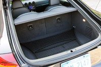 2011 Audi TT 2.0 Quattro Coupe rear cargo area