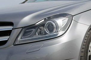 2012 Mercedes C-Class Coupe headlight