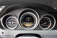 2012 Mercedes-Benz C63 AMG Coupe gauges
