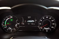 2011 Kia Optima Hybrid gauges