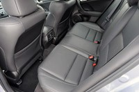 2011 Acura TSX Sport Wagon rear seats