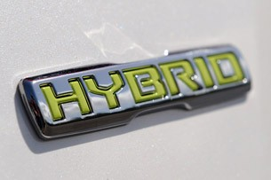 2011 Kia Optima Hybrid badge